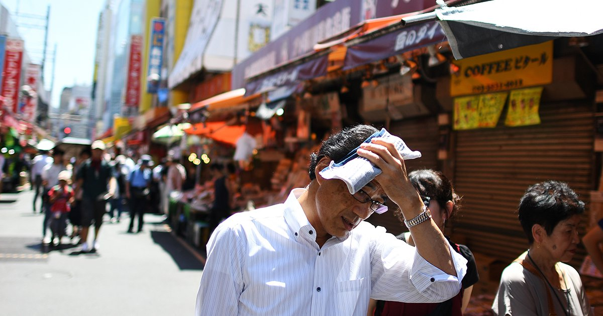 Blistering Heat Wave in Japan Kills 57 and Sends 18,000 to Hospital