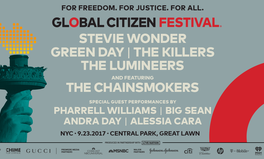Article: Global Citizen Festival 2017 Headliners Are Announced