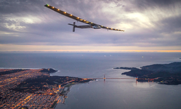 Article: This solar powered plane is trying to complete a historic around-the-world flight