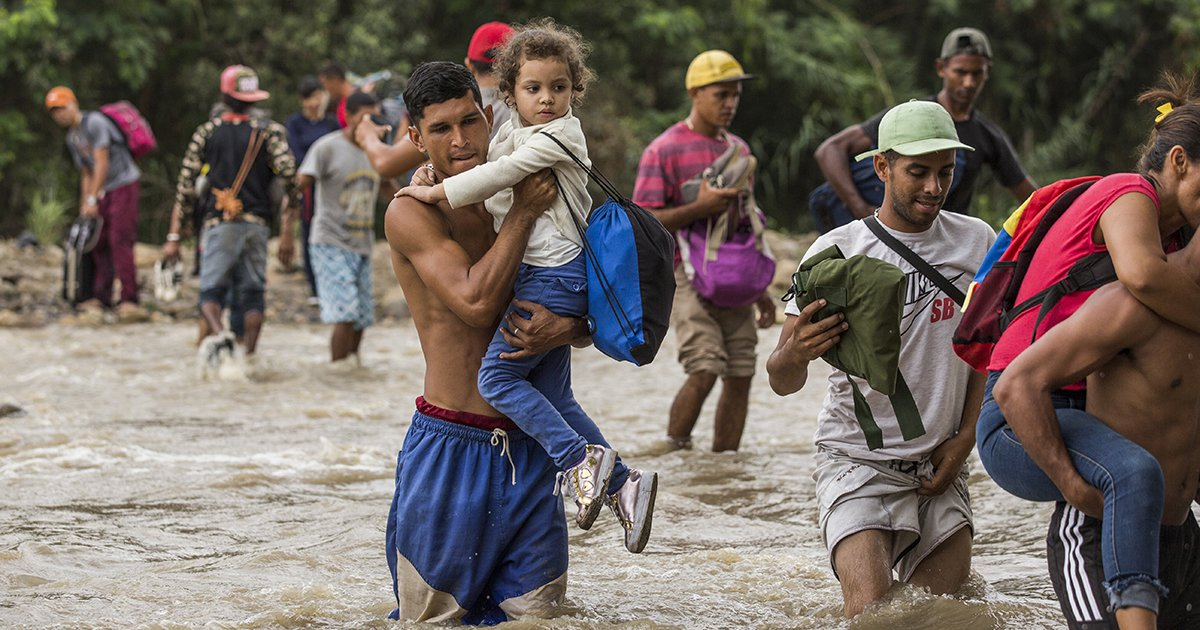 37,000 People Fled Their Homes Every Day in 2018