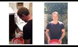 Video: Matt Damon's ice bucket challenge gets weird
