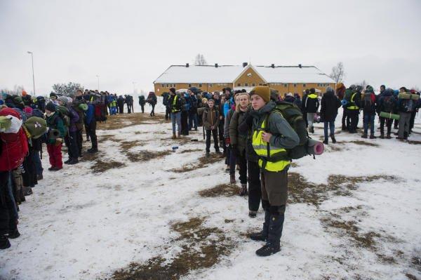 Norwegen Inszeniertes Flüchtlingscamp.jpg