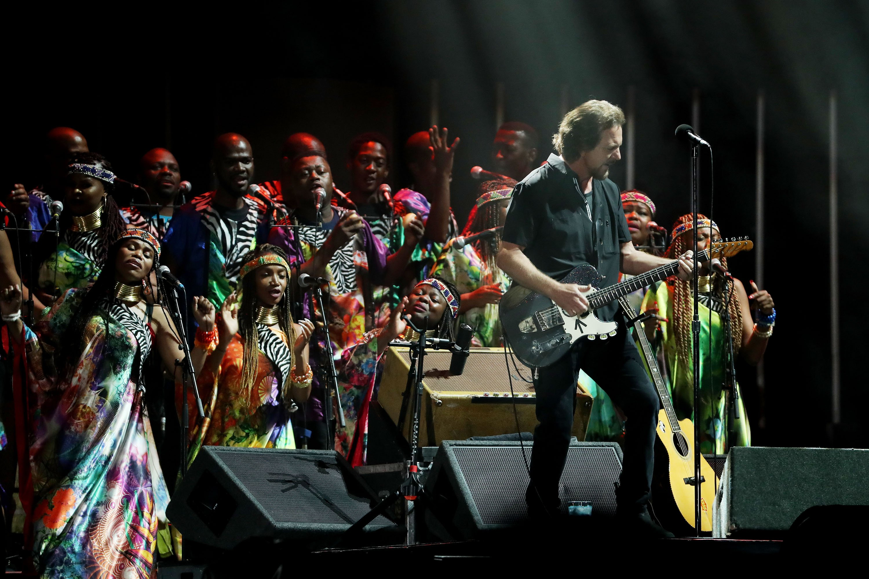 Eddie Vedder GCF: Mandela 100