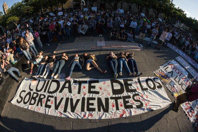 Aniversario Ayotzinapa 3