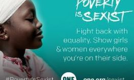 Article: 36 influential women have a powerful message: poverty is sexist