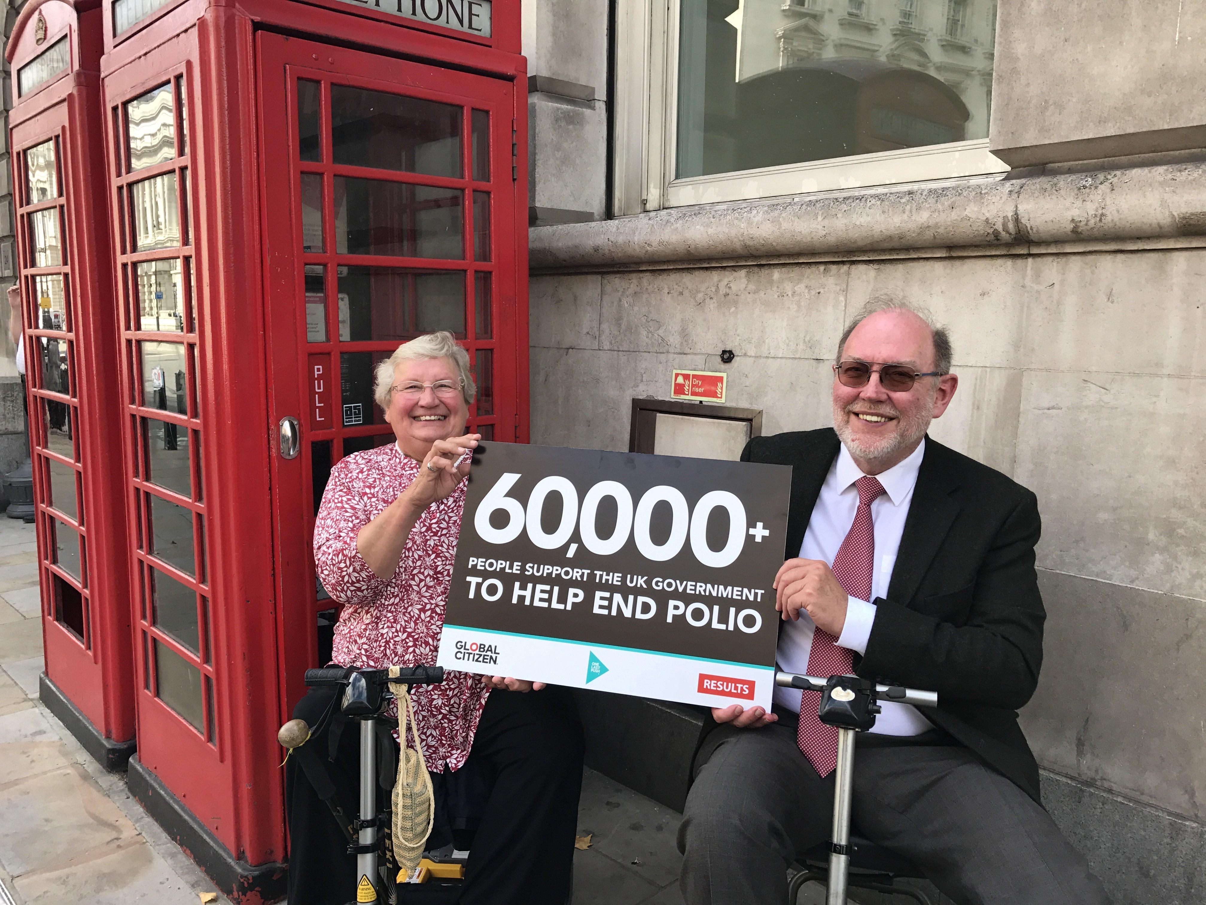 David and sue smith polio campaign