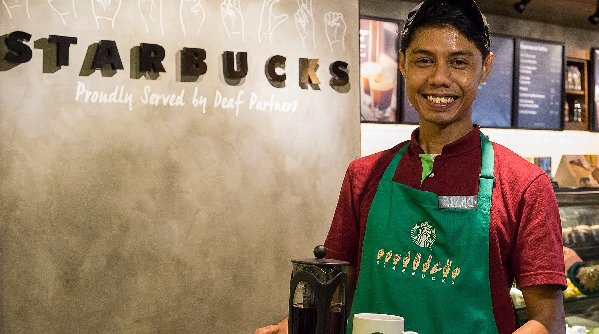 starbucks is opening a store deaf baristas starbucks