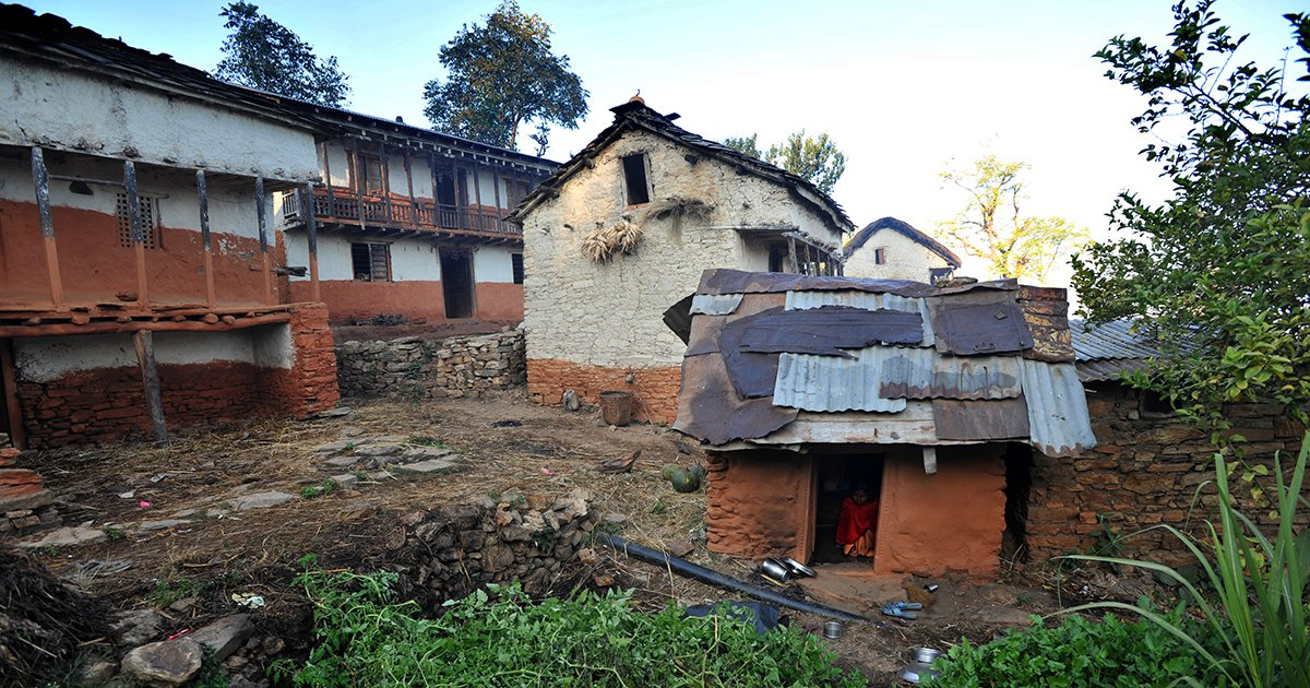 A Nepalese Mother and Her 2 Children Suffocated in a 'Menstrual Hut'