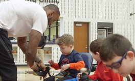 Article: LeBron James Just Delivered Nikes He Helped Design for Kids With Disabilities
