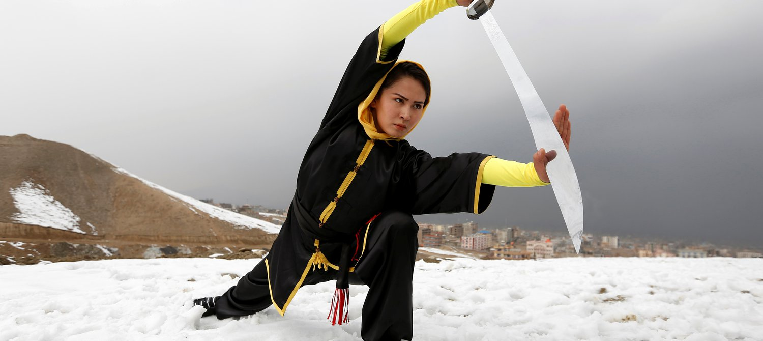 These Teen Girls In Afghanistan Are Kicking Ass  Literally-7044