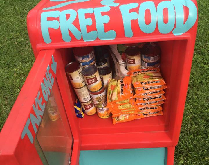 Free Food Pantry Near Me Today