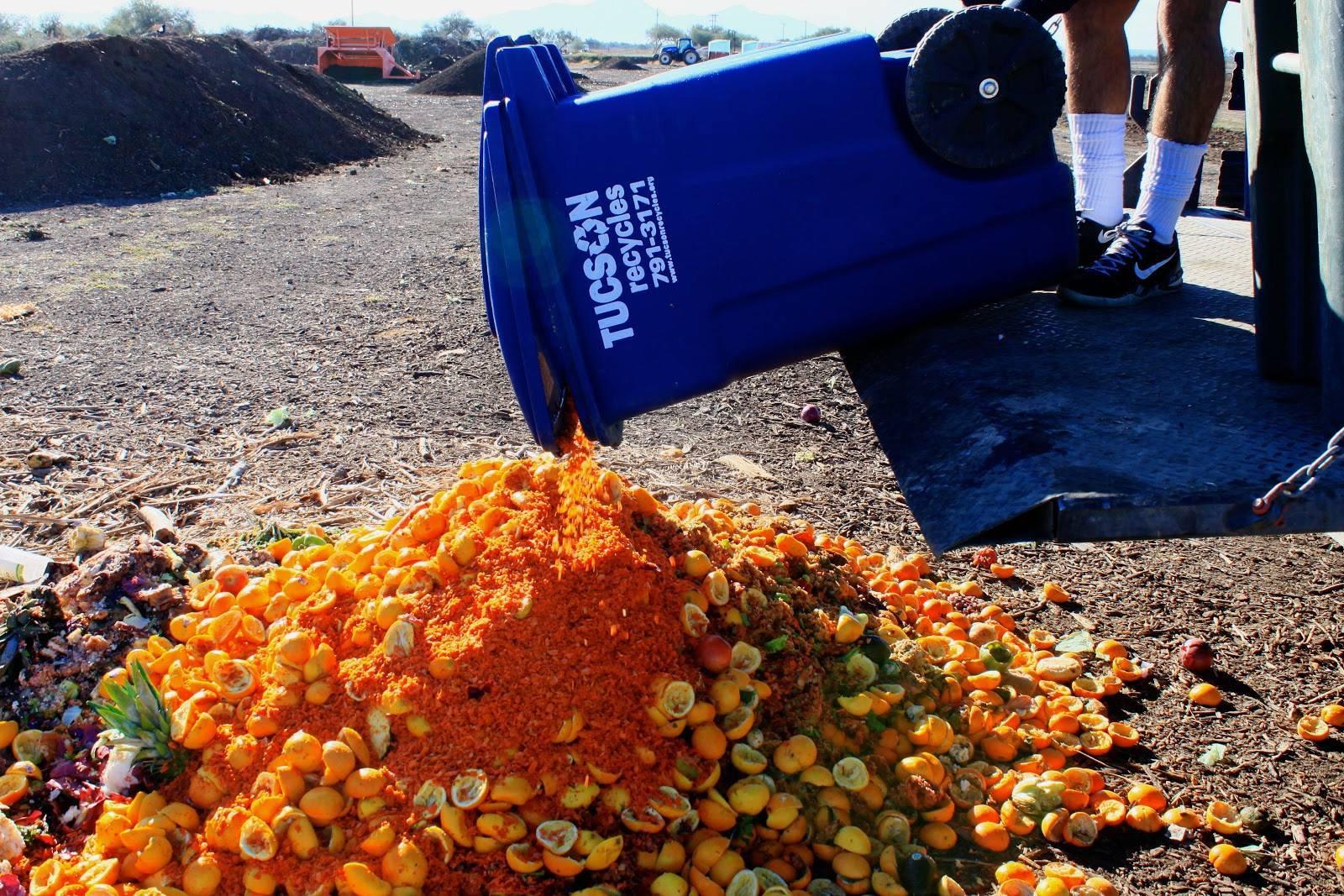 Community Food Bank Tucson Compost