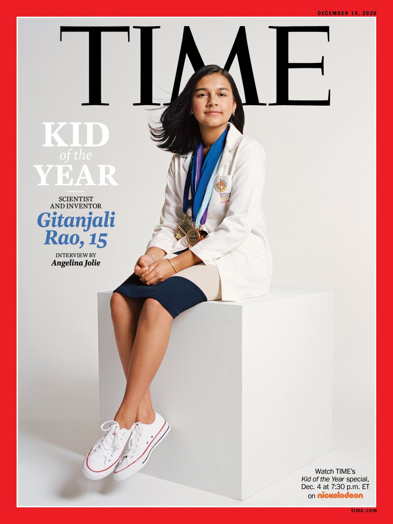 Time Kid of the Year Gitanjali Rao Full