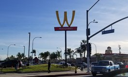 Article: McDonald's Flipped Its Golden Arches for the First Time – for the Best Reason