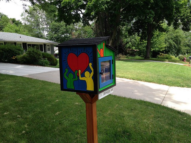 Little Free Library - love