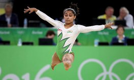 Article: Dipa Karmakar Learned to Vault Off a Discarded Scooter; Now She's Going for Gold