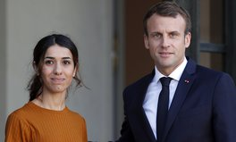 Article: After Meeting With Nobel Winner Nadia Murad, France Says It Will Help Yazidi Survivors