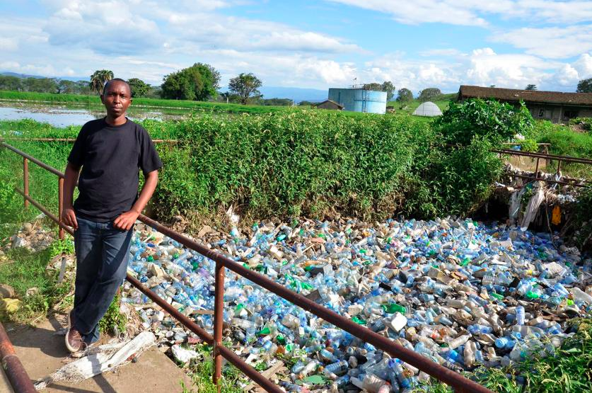 Fed Up With Plastic, This Man Got Kenya to Ban It
