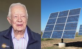 Article: Jimmy Carter Now Powers Half of His Hometown With Solar Panels