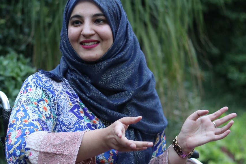 This Pakistani Activist Created an App to Deliver Menstrual Products to People With Disabilities