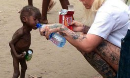 Artikel: This is how the Nigerian 'witch' boy who nearly died of hunger looks today
