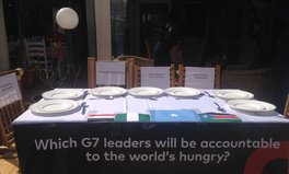 Article: G7 Leaders Fail to Deliver Their Hunger Commitment