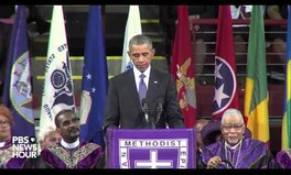 Vidéo: President Obama delivers an emotional eulogy with lessons for a better tomorrow