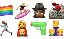 Artikel: Women Surf, Bike, and Spy in Apple's Newest Emoji