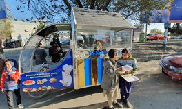 Feature: This Business Student-Turned-Engineer Is Transforming Afghanistan One Solar-Powered Food Cart at a Time