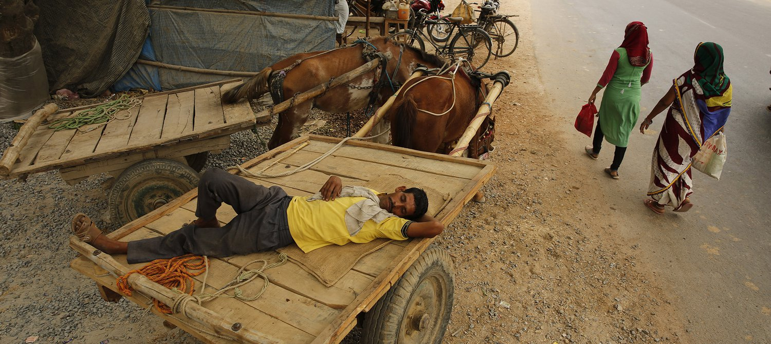 Hundreds of Indian Villages Empty as People Flee Historic Drought
