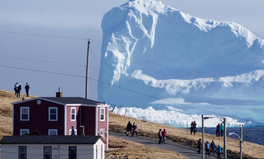 Article: The Hidden Message Behind This Viral Photo of an Iceberg in Newfoundland