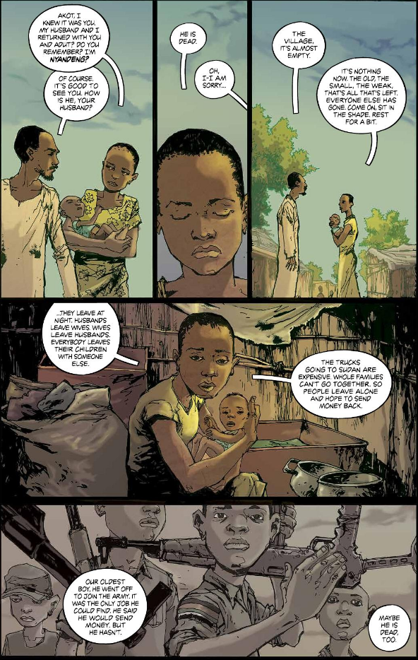 South Sudan graphic novel