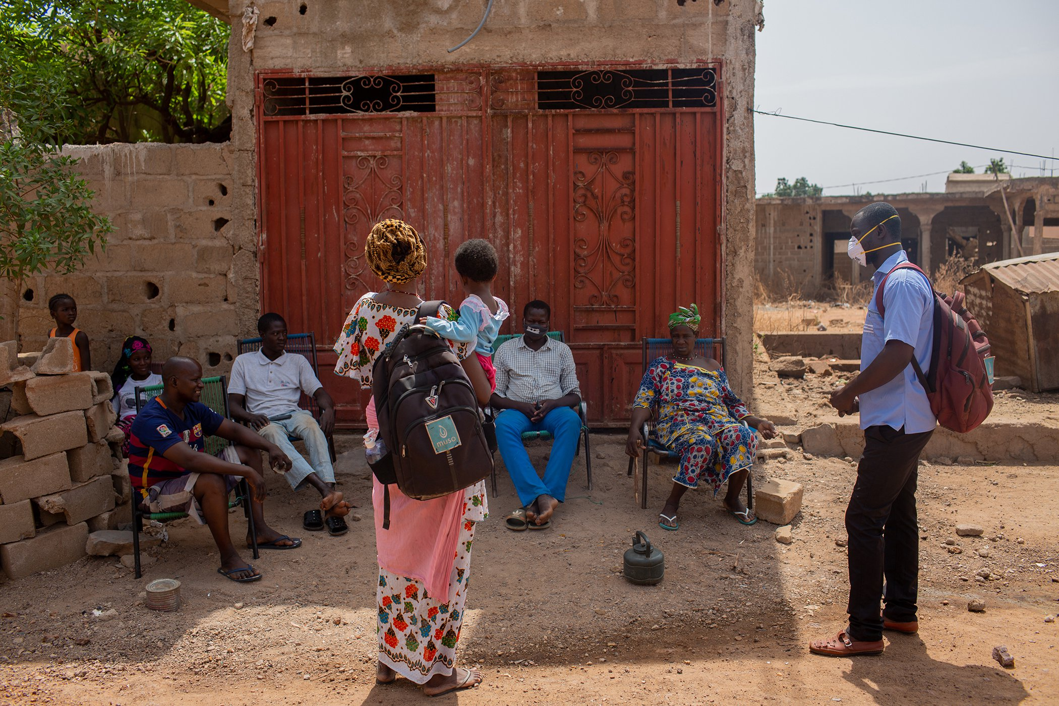 These Community Health Workers in Mali Are Providing Care One Household at a Time