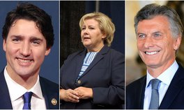 Artikel: Trudeau, Solberg & Macri Will Appear at Global Citizen Hamburg