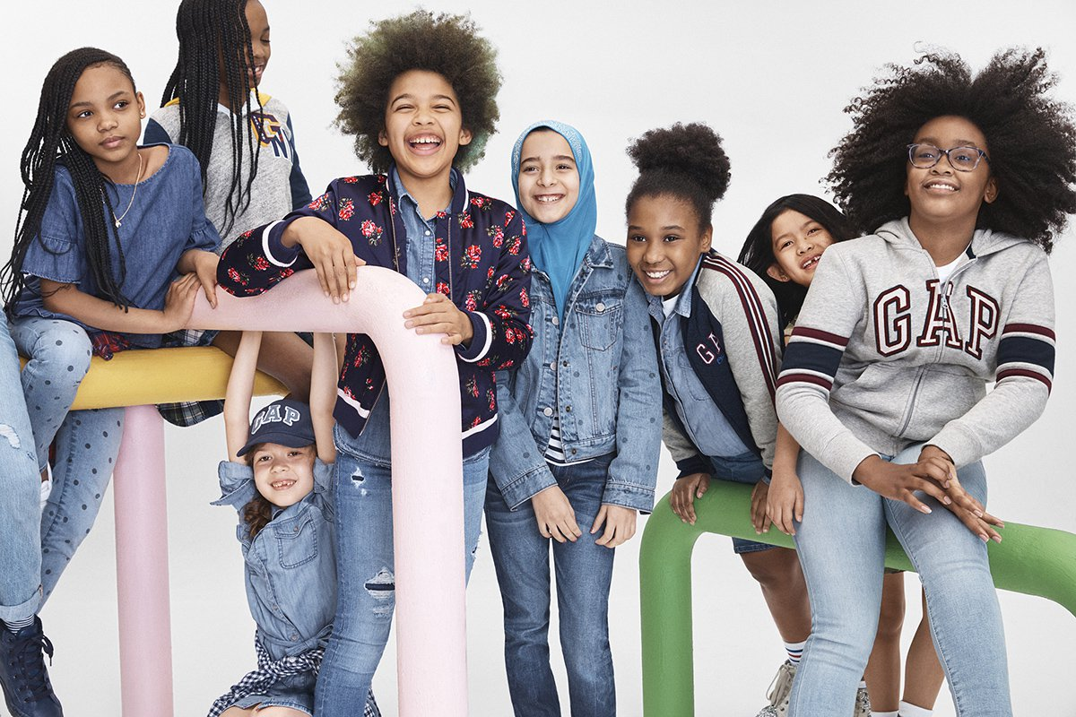 Girl Proudly Models Her Hijab In Gaps Inclusive Back-To -3136