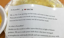 Article: After Terror Attacks in UK, Muslim Neighbor Sends Beautiful Ramadan Message