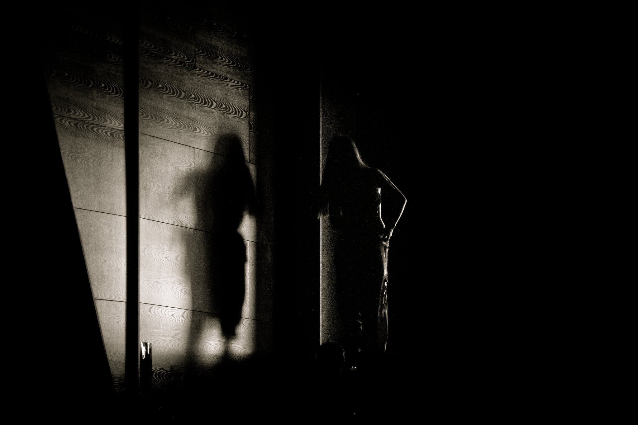 Trafficking woman silhouette Flickr