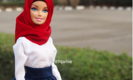 Artikel: Barbie gets another makeover and this time she's wearing a Hijab