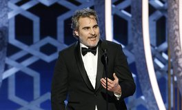 Article: Joaquin Phoenix Urges Celebrities to Forgo Private Jets in Golden Globe Speech