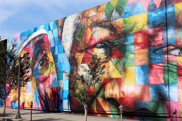 Nelson Mandela mural 1