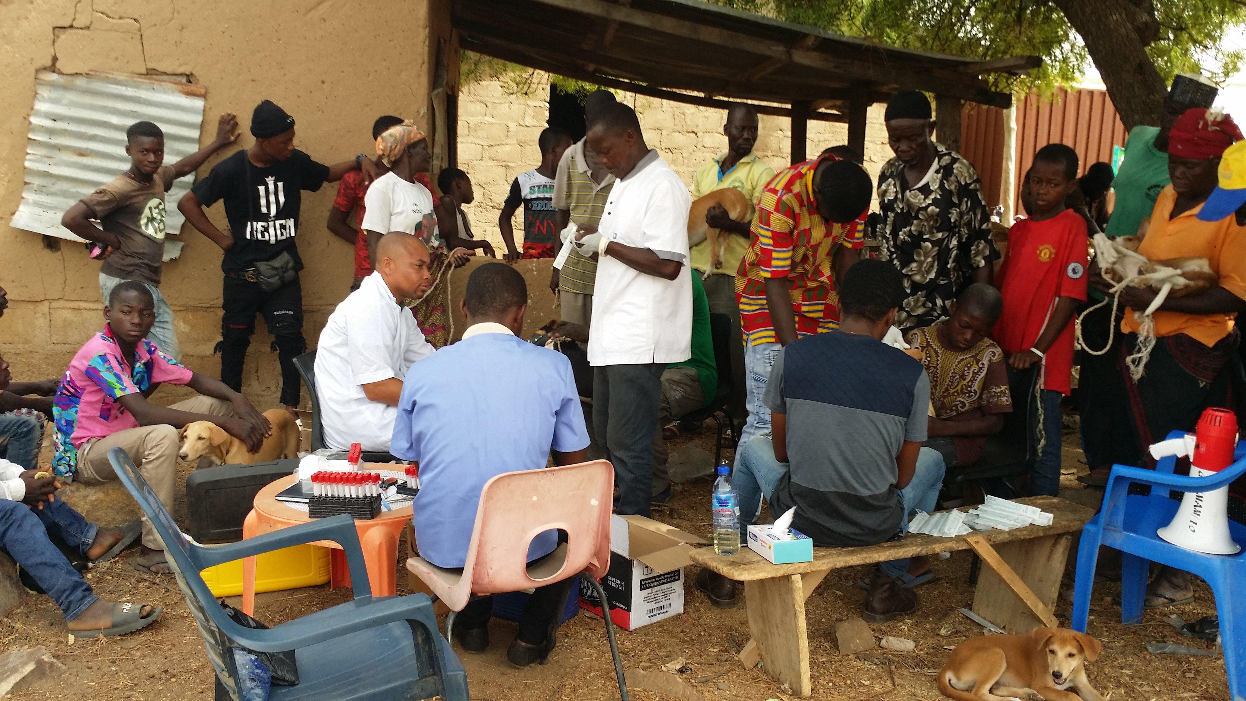 Rabies Vaccine World Rabies Day Ghana, Dr. William Tasiame.jpg