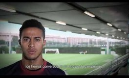 Video: Barcelona's soccer team supports the Global Citizen Movement