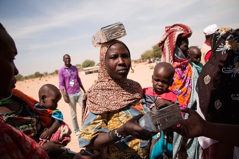 Chad refugee camp barriers to girls' education