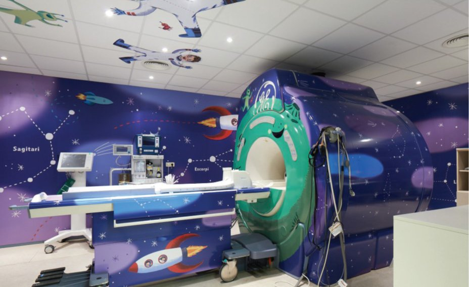Watch This Children's Hospital Transform Into a Magical ...