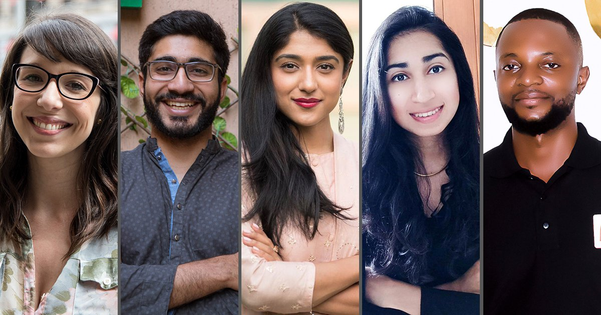 Meet the 5 Extraordinary Finalists for the 2019 Global Citizen Prize: Cisco Youth Leadership Award