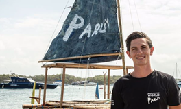 Artículo: This 22-Year-Old Is Running From NYC to LA to Raise Awareness About Ocean Plastic