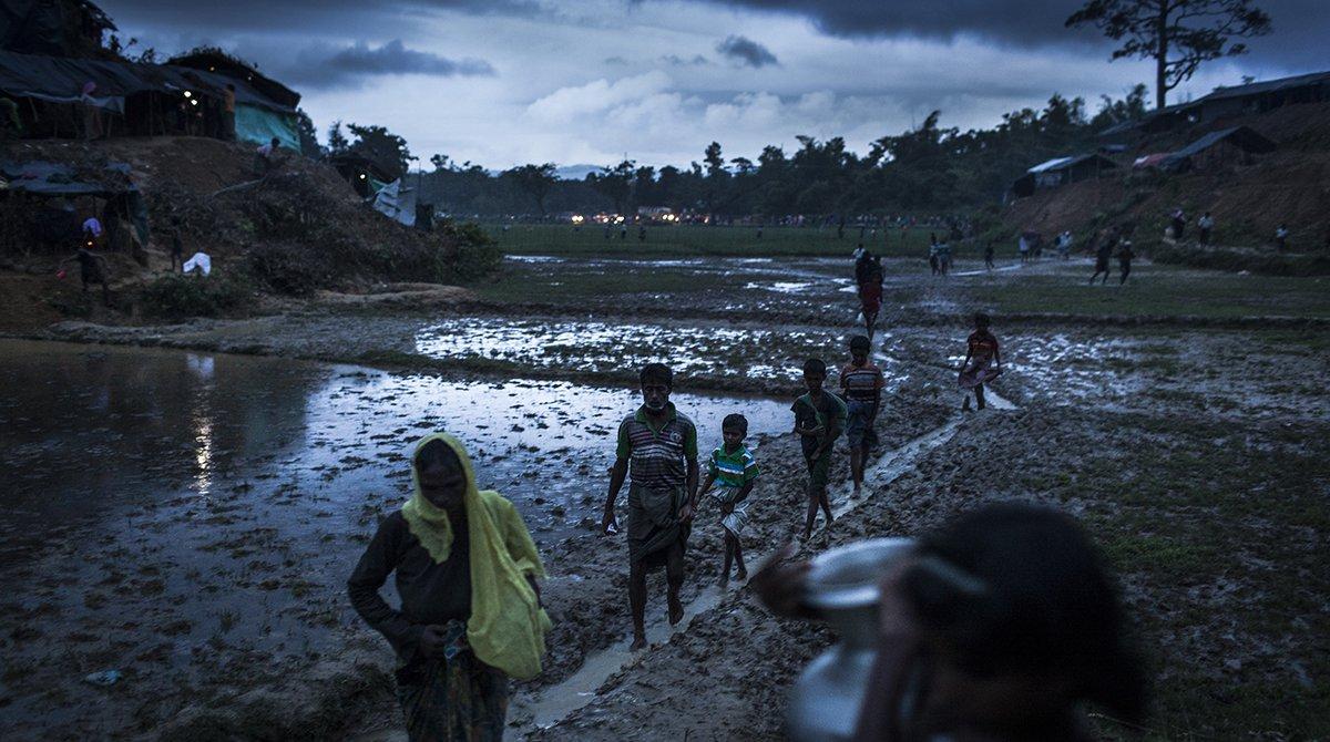 The Gambia Sues Myanmar for Genocide Against Rohingya Muslims