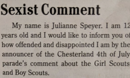 Article: 12-Year-Old Girl Scout Calls Out Sexism Like a Boss