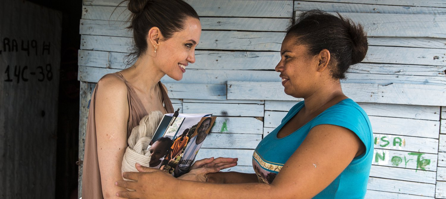 Angelina Jolie Says These 4 Things Will Help End the US Border Crisis