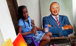Article: Amazing 9-Year-Old Kenyan Artist Draws Women to Show Their Global Struggle